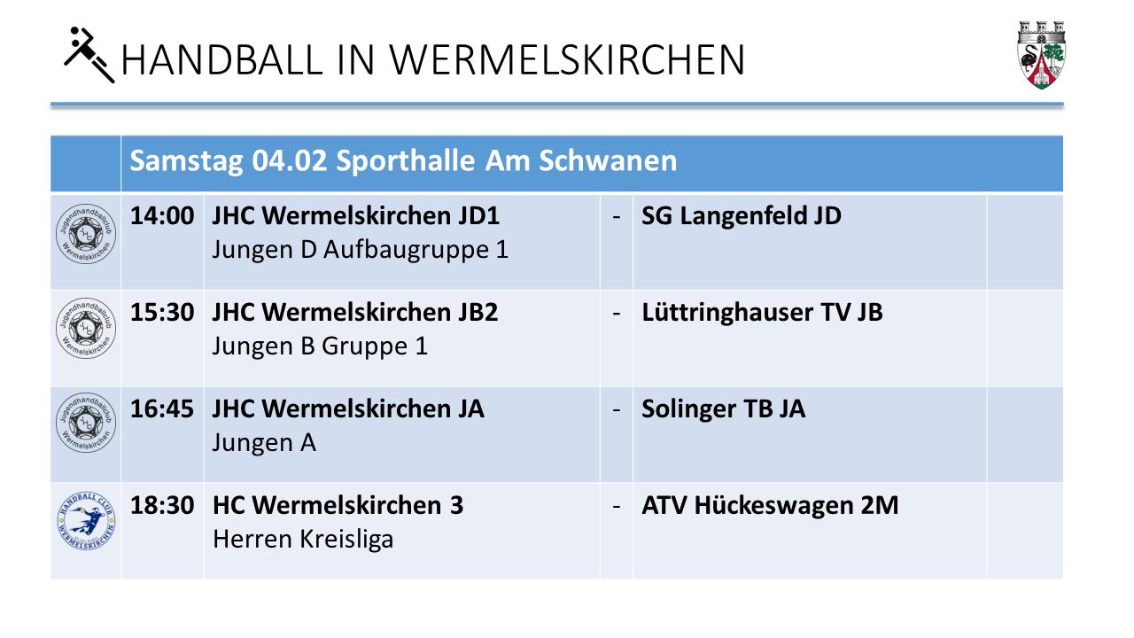 4.2 Handball am Schwanen