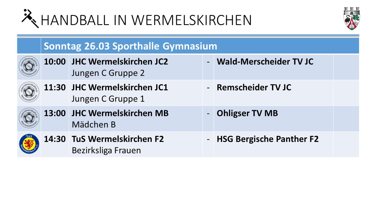 Handball Gymnasium 26.3