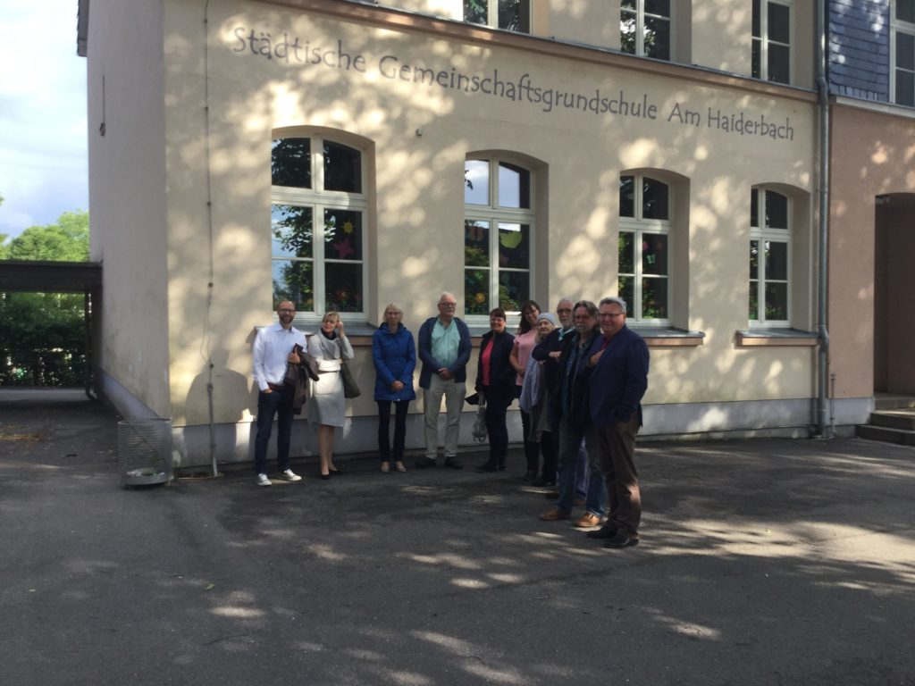 SPD-Fraktion in der Grundschule Tente