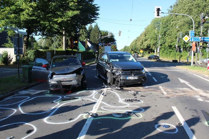 Burscheid Unfall