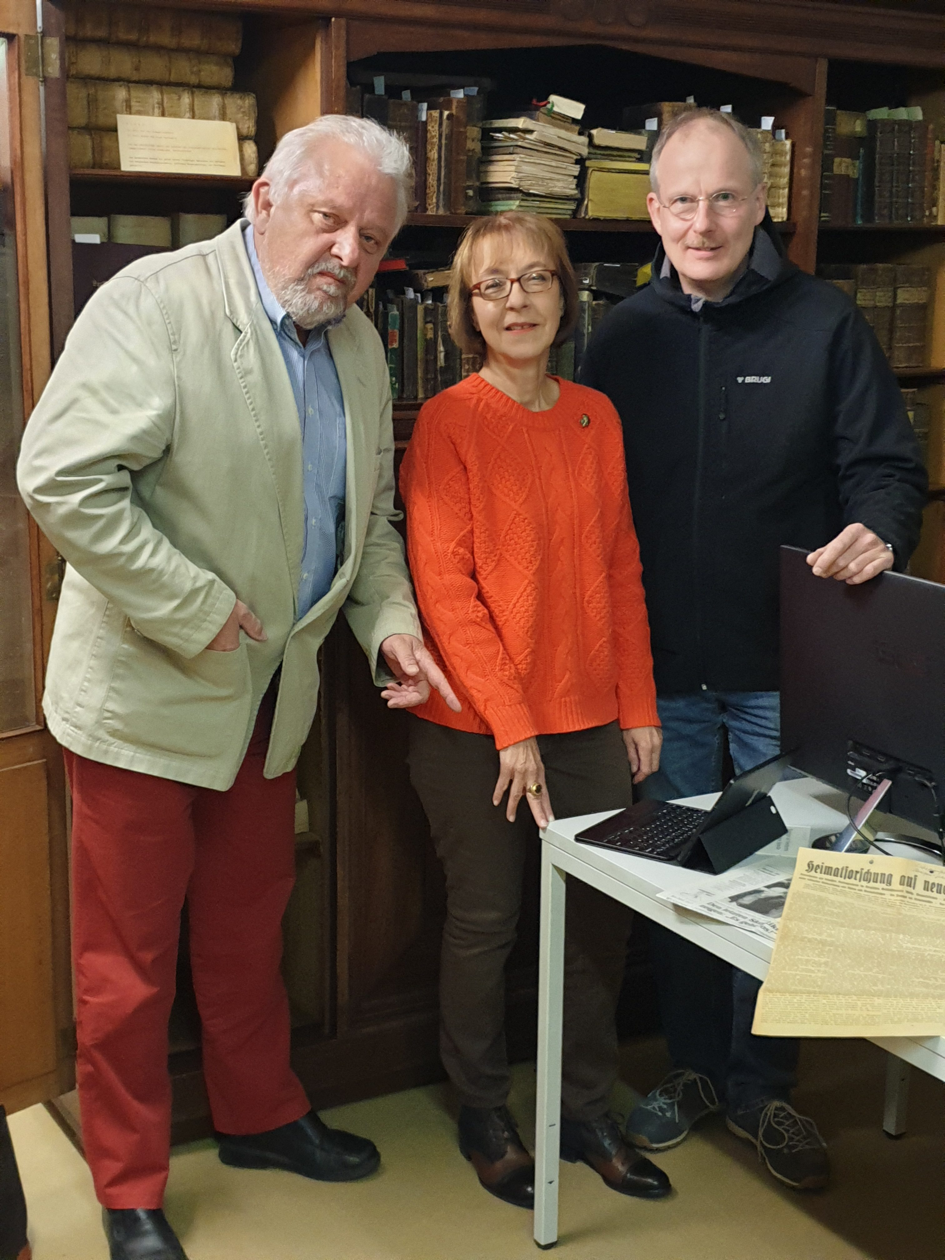 Thomas Wintgen, Marita Bahr, Volker Ernst